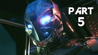 Batman Arkham Knight Walkthrough Gameplay Part 5 - Arkham Knight (PS4)