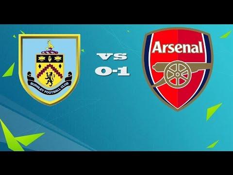 Burnley vs Arsenal 0 - 1|MATCH STATISTICS