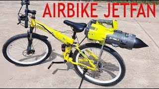 How to make a Air Bike - with 2-Stroke JETFAN Engine
