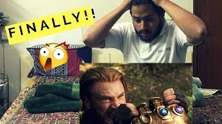 Avengers: Infinity war official trailer 2 REACTION
