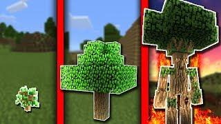 NẾU CÁI CÂY CÓ CUỘC SỐNG TRONG MCPE | Cuộc Sống Minecraft PE