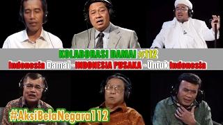 Damainya Duet Jokowi ft. SBY, Habib Rizieq, Gus Dur Dkk   Lagu Indonesia Pusaka