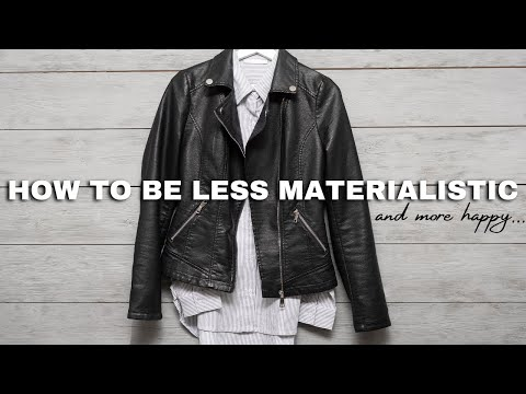 How to be *LESS* materialistic and *MORE* happy⎟FRUGAL LIVING TIPS⎟How to Save Money Faster