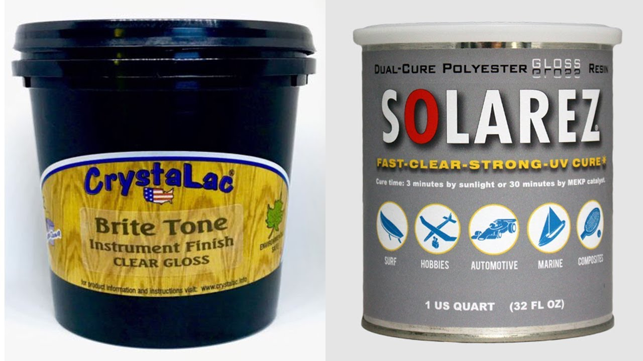 Viewer Questions About Crystalac Brite Tone and Solarez UV Polyester Resin