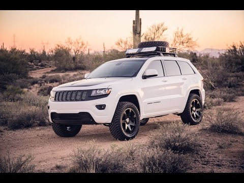 Back Way to Crown King AZ in lifted Grand Cherokee wk2