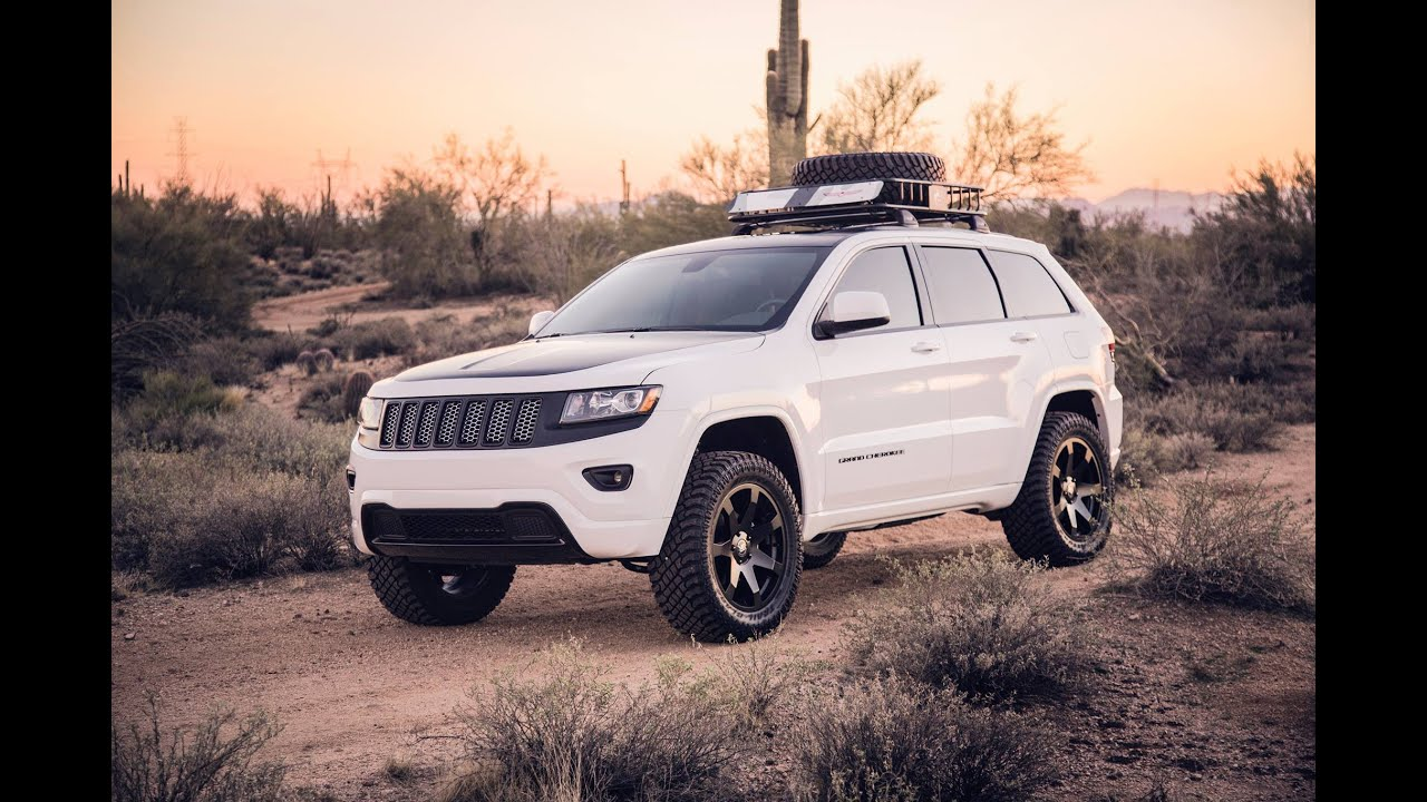 Back Way To Crown King AZ In Lifted Grand Cherokee Wk2   YouTube