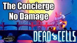 DEAD CELLS [PS4 PRO] - The Concierge Boss Fight | No Damage (Steam rolled. Trophy/Achievement)