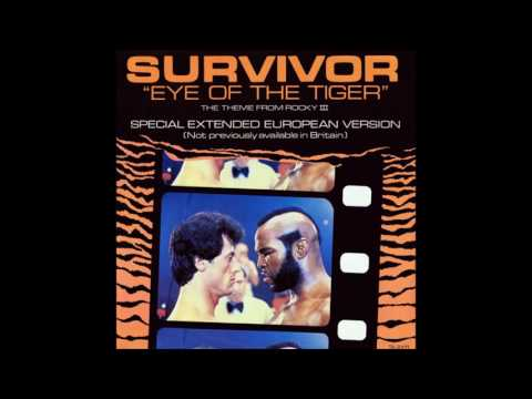 Survivor  ‎– Eye Of The Tiger (Special Extended European Version) 1982