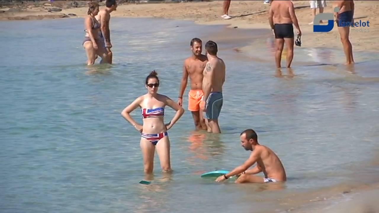 playas nudistas lanzarote espana
