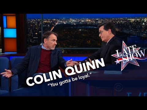 Colin Quinn Is Disappointed By Trump's Cabinet Picks