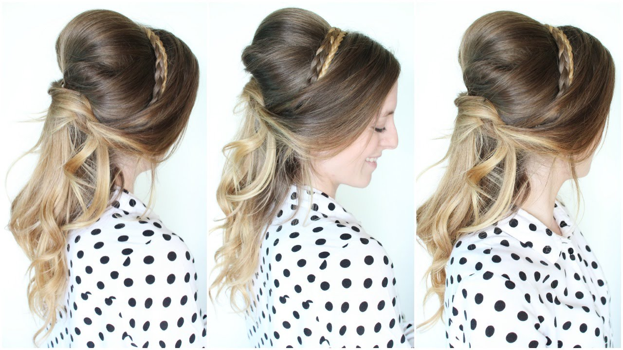 Belle Disney Princess Hairstyle