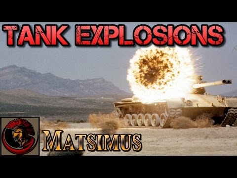 Main Battle Tank Explosions - Top Ten Explosive Footage Clips