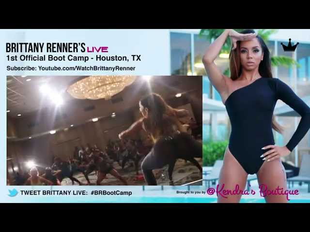 Brittany Renners 1st Boot Camp in Houston, Texas