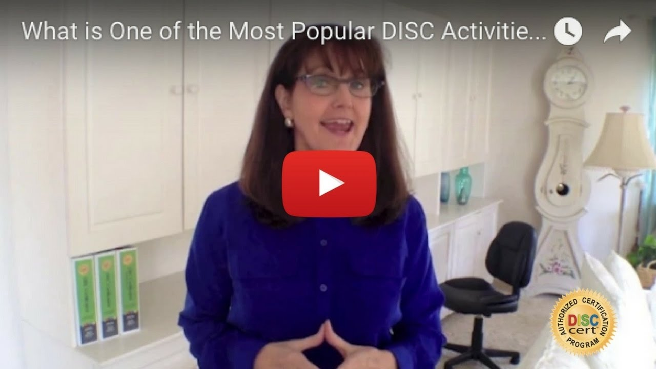 DISC Certification by DISCcert Inc. - What is One of the Most Popular DISC Activities?