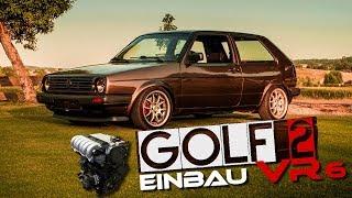 Stahlwerkz - Golf 2 VR6 I Motoreinbau und 1. Testfahrt