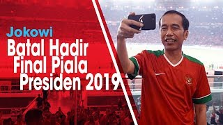 Presiden Joko Widodo Batal Hadiri Final Piala Presiden Leg ke-2 di Stadion Kanjuruhan