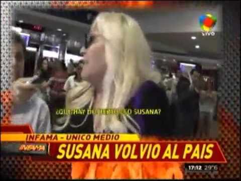 """Susana Giménez: """"No conozco a Fabián Rubino…"""""""