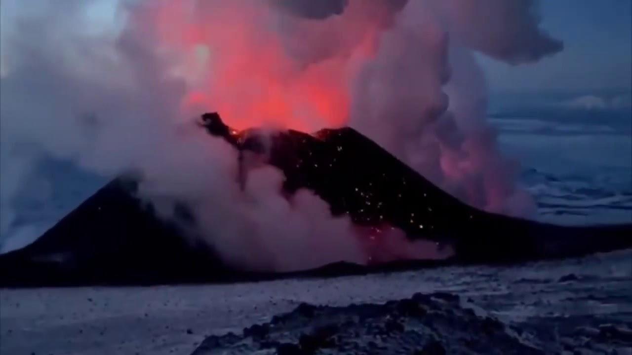 Download Klyuchevskaya Sopka Volcano Erupted