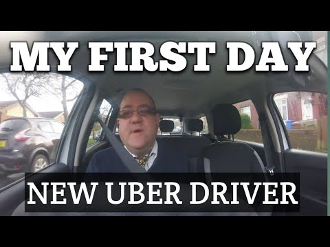 First day as a Uber Driver in the United Kingdom