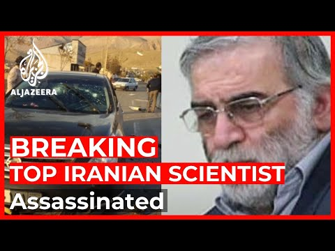 Breaking News: Top Iranian nuclear scientist assassinated ne