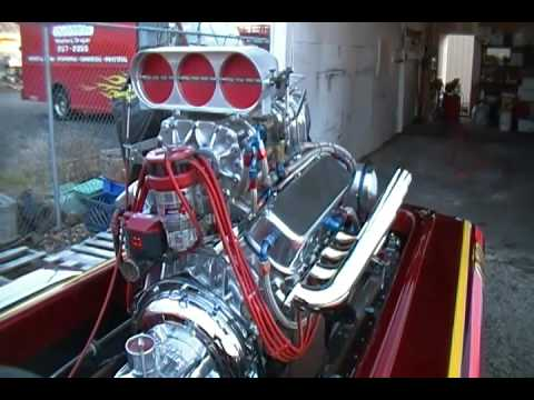 572 Keith Black Chevy Blown Alcohol 112811 001.MP4 - YouTube