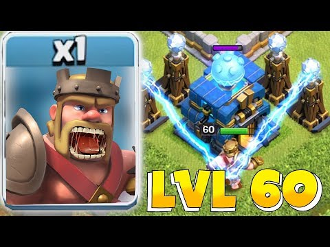 "NEW MAX LVL 60 HEROES Vs. TH 12.5 ""Clash Of Clans"" NEW UPDATE!!"