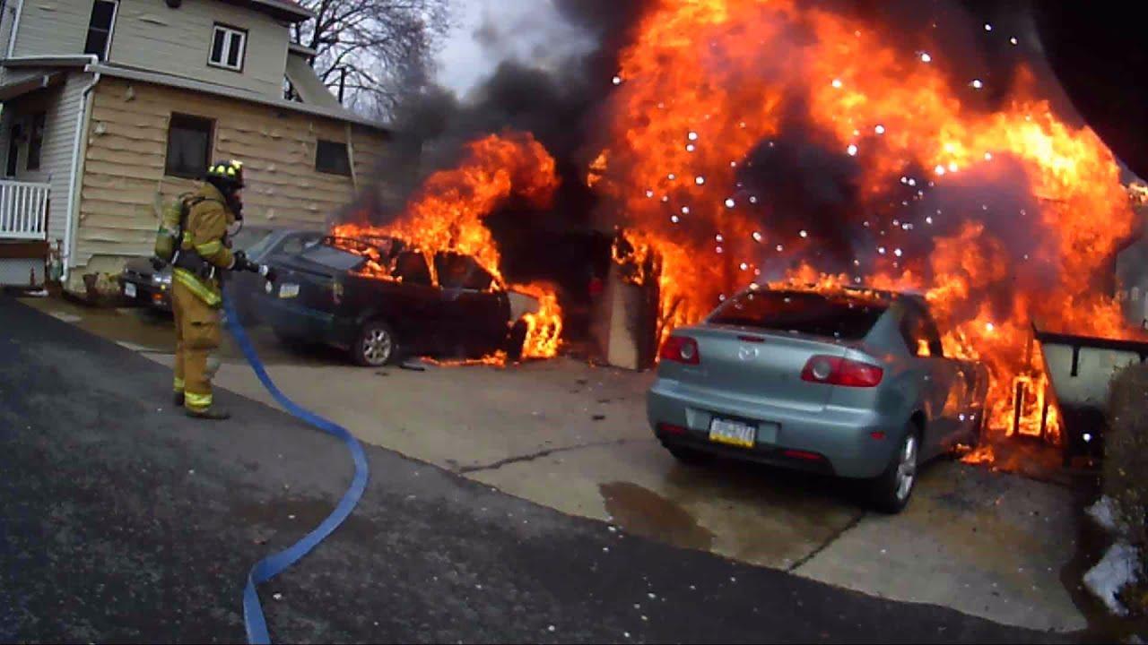 Download Helmet Cam (Bendele) - Working Garage Fire - 01/19/15