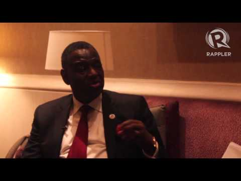 Rappler : Interview with Dr.Babatunde Osotimehin (Executive Director, Unitet Nation Population Fund)