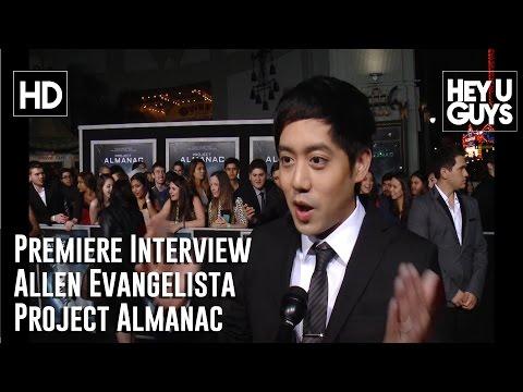 Allen Evangelista   Project Almanac LA Premiere