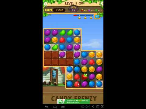 Candy Frenzy Gameplay Level 20