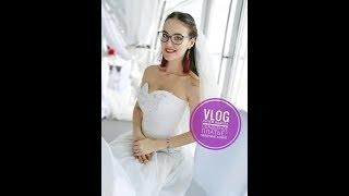 VLOG: Зачем одела свадебное платье? Я засветилась на первом канале)))