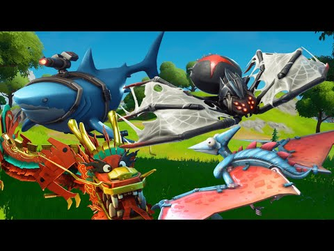ALL Fortnite Animal Gliders! NEW!