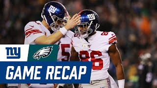 Giants vs. Eagles Postgame Recap, Highlights, and Analysis