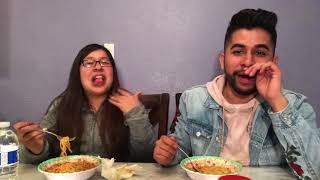 Spicy Noodle Challenge Gone Wrong!