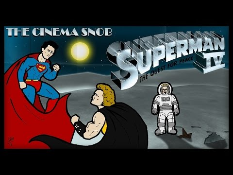 The Cinema Snob: SUPERMAN IV: THE QUEST FOR PEACE