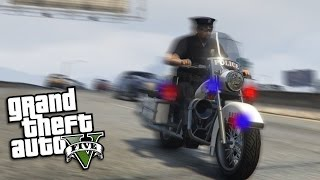 GTA 5 Mods - PLAY AS A COP LSPDFR MOD, SWAT TEAM, HUGE GANG, HIGH SPEED CHASE (GTA 5 Mods Gameplay)