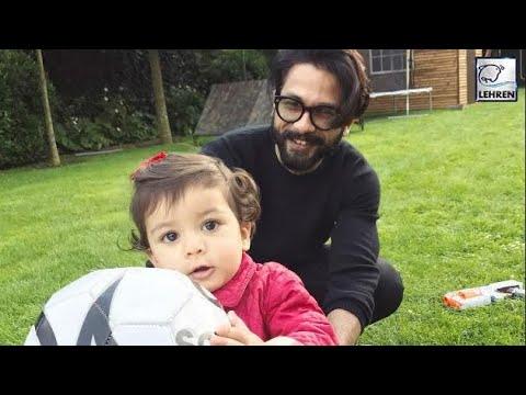 Shahid Kapoor's Daughter Misha Looks HAPPY During Vacation | LehrenTV