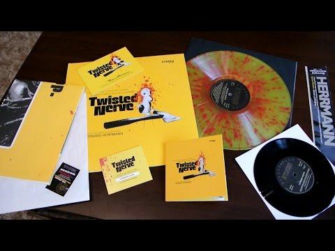 TWISTED NERVE - SUPER-DELUXE EDITION Vinyl Soundtrack Yellow Colored Bernard Herrmann Styloton