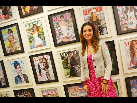 Como é A Visita Na Redação Da Revista Glamour