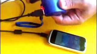 Cargador cangrejo de emergencia para telefono movil tablet y demás
