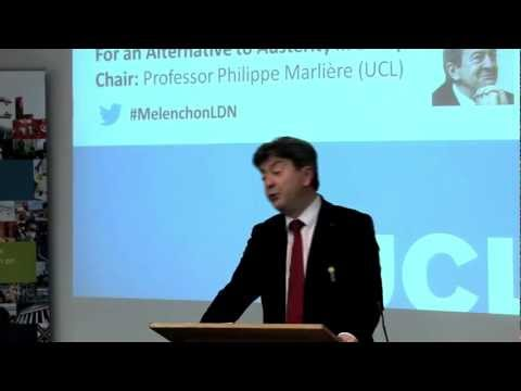 Jean-Luc Mélenchon: an alternative to austerity [with English subtitles]