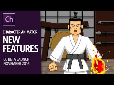What's New In Adobe Character Animator CC Beta (November 2016)
