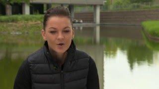 Agnieszka Radwanska   Mutua Madrid Open Pre-Tournament Interview