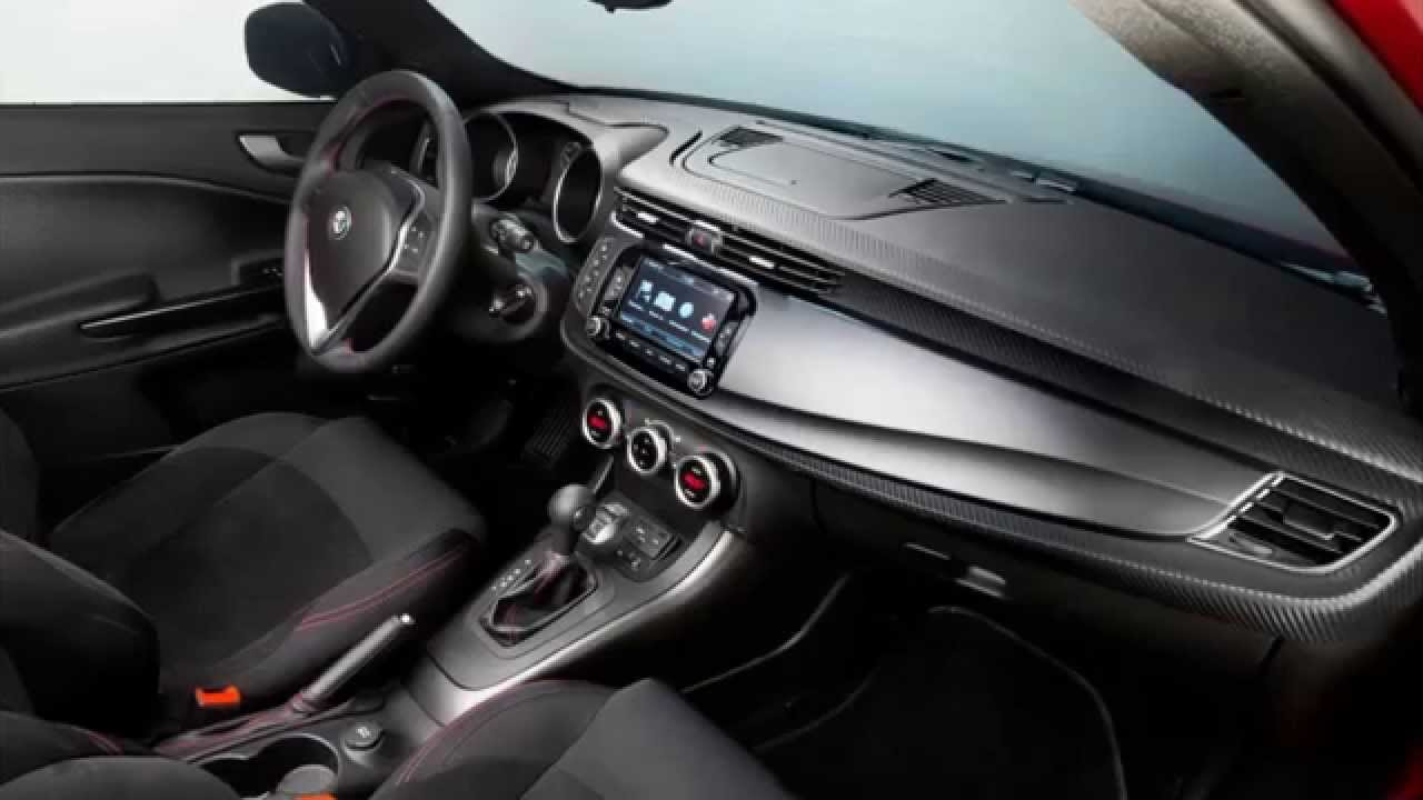 Alfa Romeo Giulietta Sprint 2015 Interior   YouTube