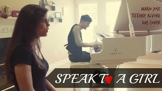 Download ► Speak To A Girl - Mario Jose & Tiffany Alvord & KHS COVER with Lyrics 中文翻譯 ◄ MP3 song and Music Video