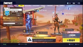 Fortnite Battle royal wins new account pt2