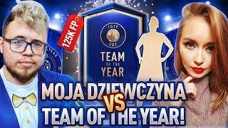 MOJA DZIEWCZYNA OTWIERA PACZKI TOTY ZA 125K!!! | FIFA 19