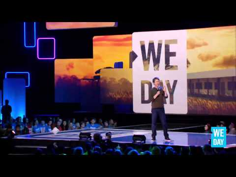 Edward Norton speaks at We Day Seattle