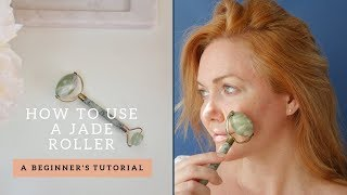 How To Use a Jade Roller   Benefits + Demo for Face, Neck, + Eyes