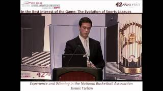 2012 SSAC: Experience and Winning in the National Basketball Association
